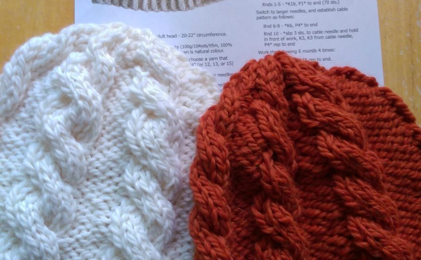 Day 9 – Cable Hat Free Pattern