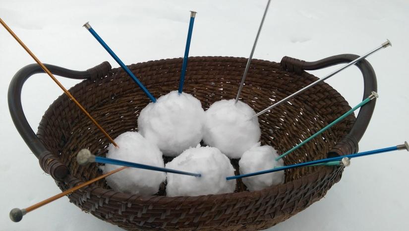 Snow Knitting