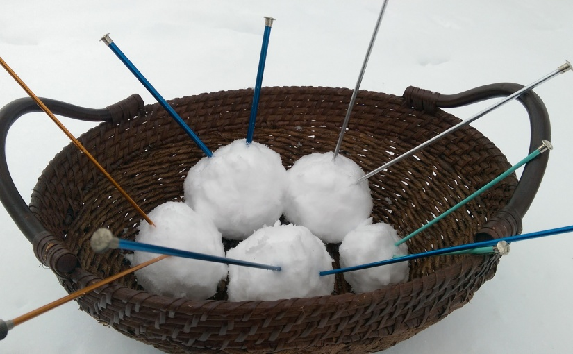 Snow Knitting